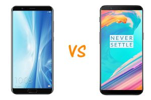 honor view 10 vs oneplus 5t