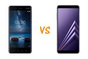 nokia 8 vs galaxy a8