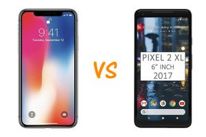 iPhone X vs Google Pixel 2 XL