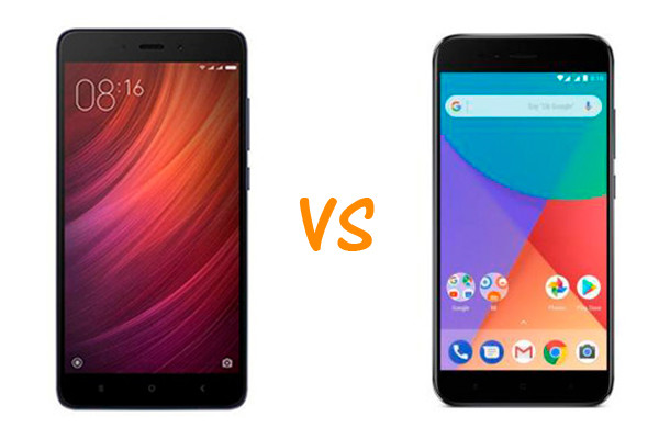 xiaomi redmi note 4 vs mi a1