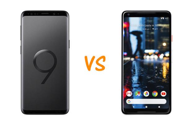Samsung Galaxy S9 vs Google Pixel 2 XL