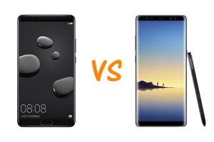 Huawei Mate 10 vs Samsung Galaxy Note 8