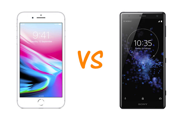 iPhone 8 Plus vs Sony Xperia XZ2