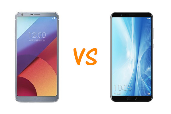 LG G6 vs Honor View 10