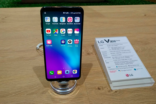 lg v30s thinq analisis