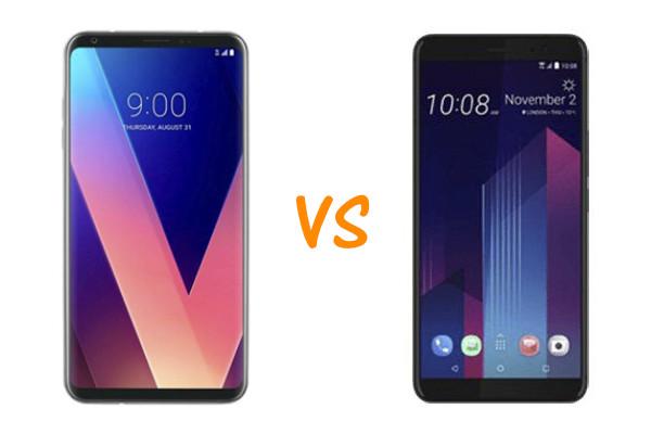 LG V30S ThinQ vs HTC U11+