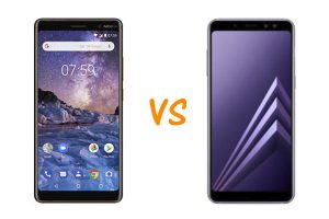Nokia 7 Plus vs Samsung Galaxy A8 2018