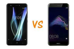 Comparar BQ Aquaris X vs Huawei P8 Lite 2017