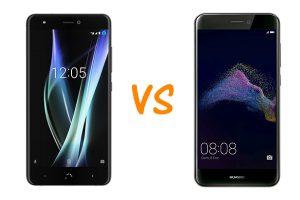 BQ Aquaris X vs Huawei P8 Lite 2017