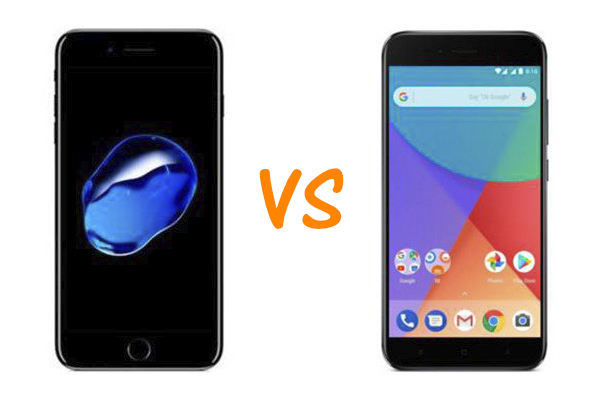 iPhone 7 vs Xiaomi Mi A1