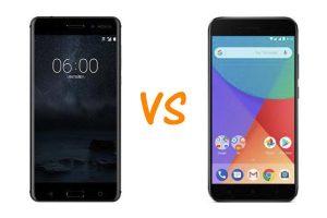 Nokia 6 vs Xiaomi Mi A1