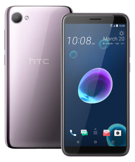 HTC Desire 12 Silver Purple