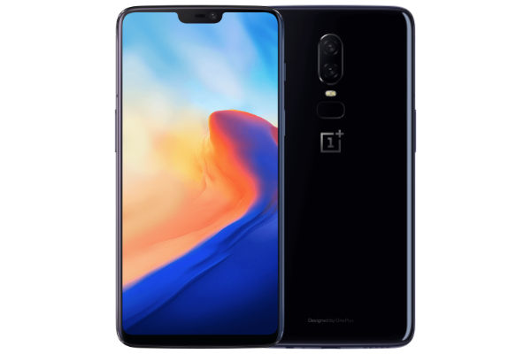 OnePlus 6 frontal y trasera
