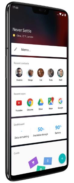 OnePlus 6 ladeado