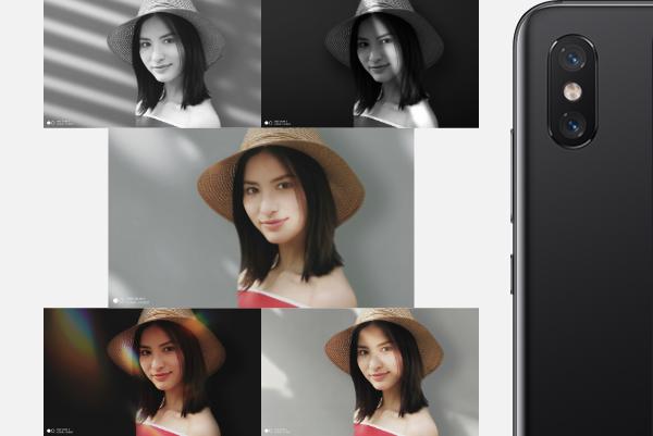 Retratos en Xiaomi Mi 8
