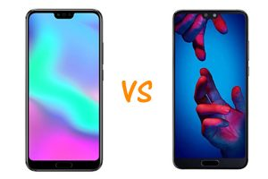 honor 10 vs huawei p20