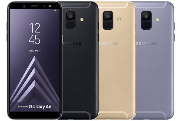 Samsung Galaxy A6 - Colores