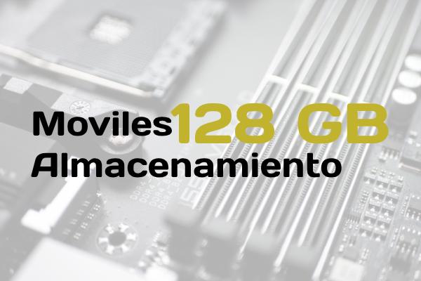 moviles 128 GB