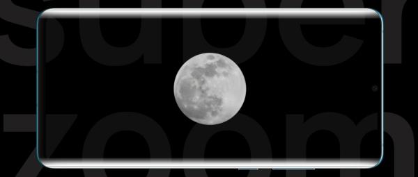 Huawei P30 Pro Super zoom que hace posible ver la luna