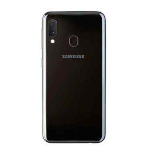 Samsung Galaxy A20 trasera