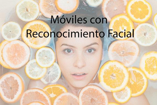 moviles con reconocimiento facial